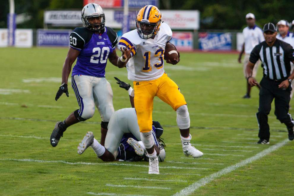 Tough schedule helps Lutcher to No. 3 in Class 3A poll _lowres