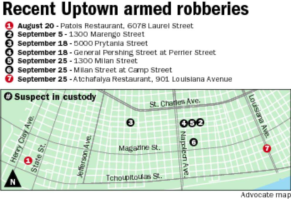16-year-old arrested in string of armed robberies Uptown _lowres