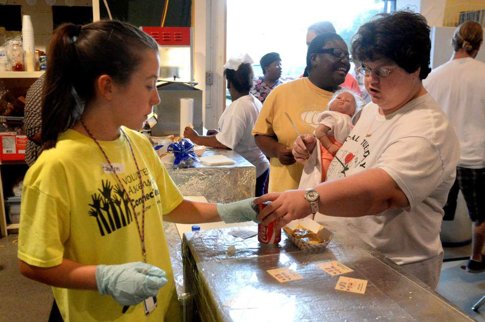Ascension Parish woman makes Tuesdays special for community _lowres