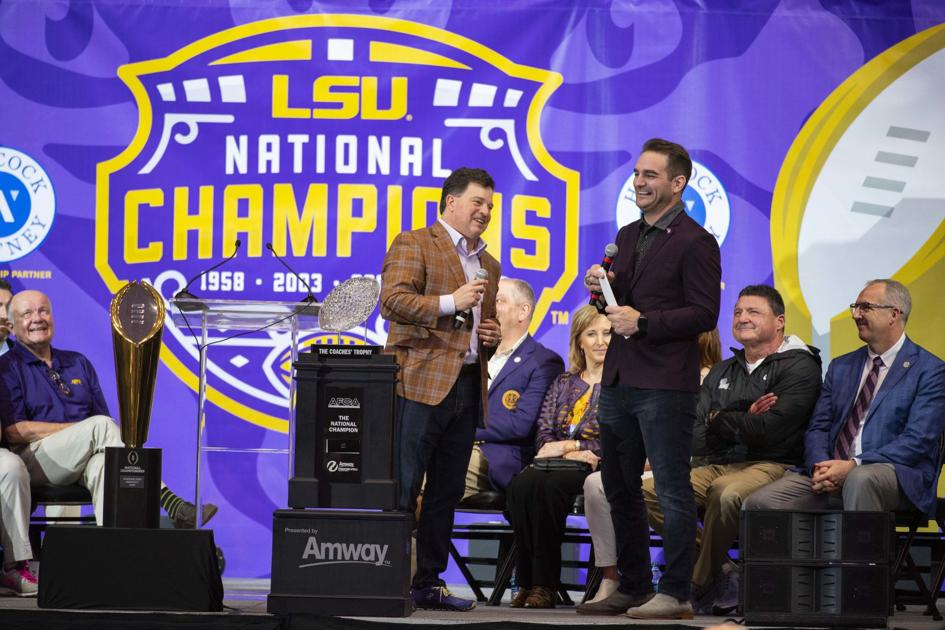 When will LSU play Tulane in football? What about Michigan? Answers from Scott Woodward