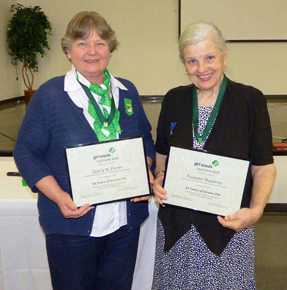Girl Scouts Louisiana East honors adult volunteers _lowres