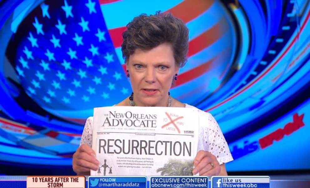 Louisiana native Cokie Roberts says New Orleans truly has experienced a 'resurrection' _lowres