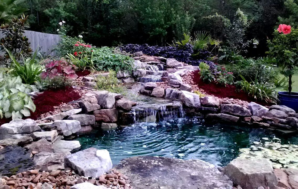 pond and garden tour highlights area homes and raises money for a