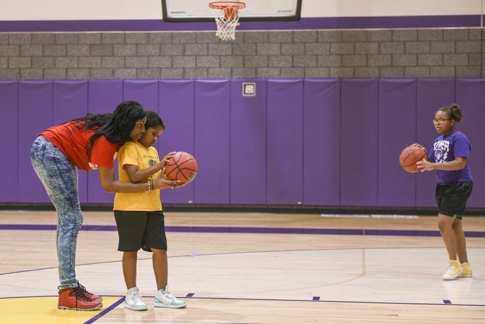 Pro active about health: WNBA, LSU star talks to kids about eating healthy, staying active _lowres