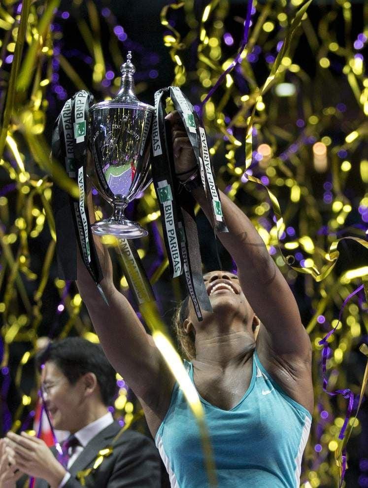 Serena Williams wins fifth WTA Finals title _lowres