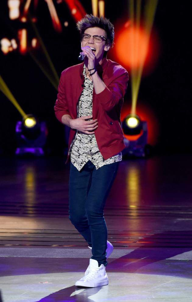 Louisiana 'Idol' contestant MacKenzie Bourg, now in Top 5, says this could be 'my best week' _lowres