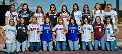 All-Parish Softball Group Picture