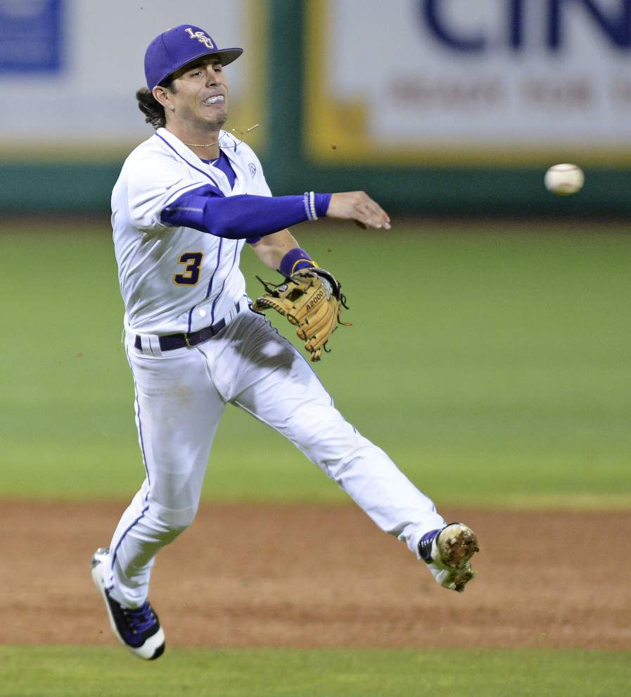 'They just whipped us:' LSU baseball falls 7-1 to Ball State in series opener _lowres