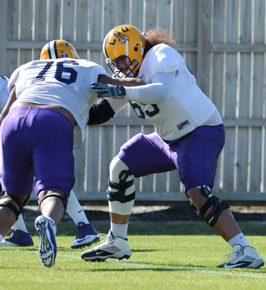 Video: Hoko Fanaika is ready and prepared to start at right guard for LSU _lowres