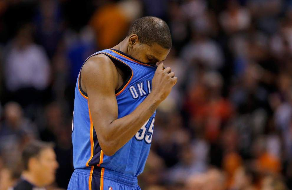 Video: Thunder's focus is on NBA title, not Durant winning MVP _lowres