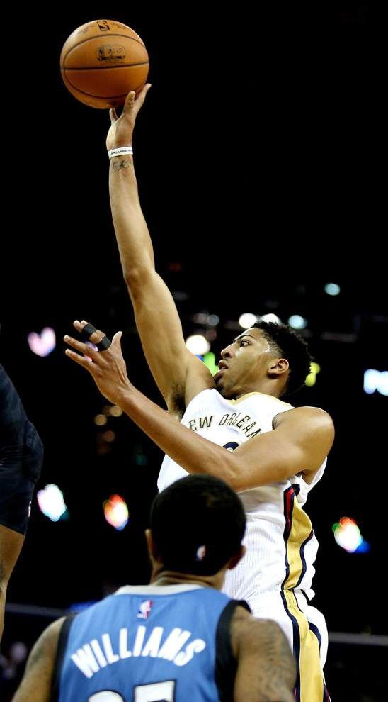 Lewis: After painful loss, Pelicans get good news on Anthony Davis _lowres