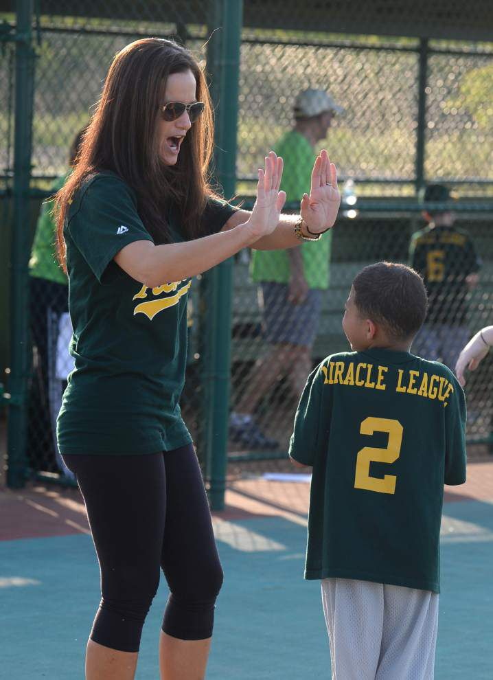 Miracle League field knocks it out of the park for special-needs players _lowres