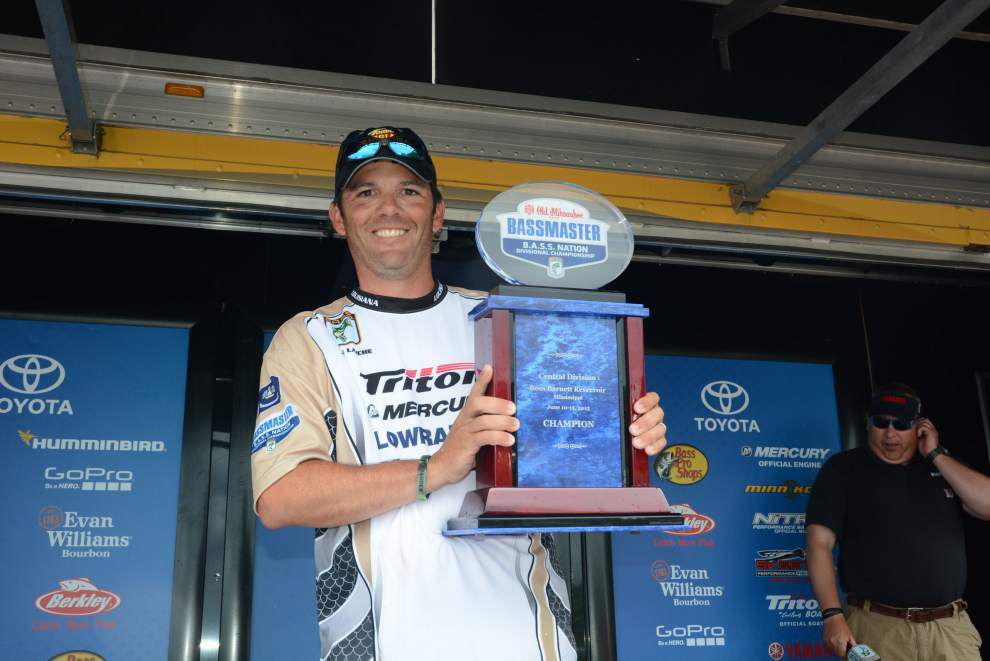 Gonzales' Jamie Laiche angling for spot in Bassmaster Classic _lowres