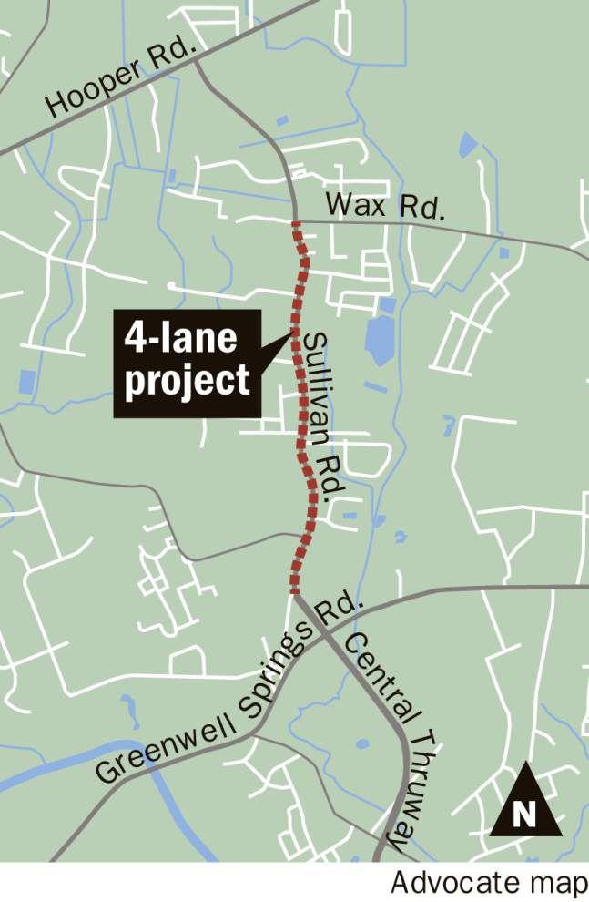 City-parish officials unveil Sullivan Road improvements at ceremony in Central _lowres