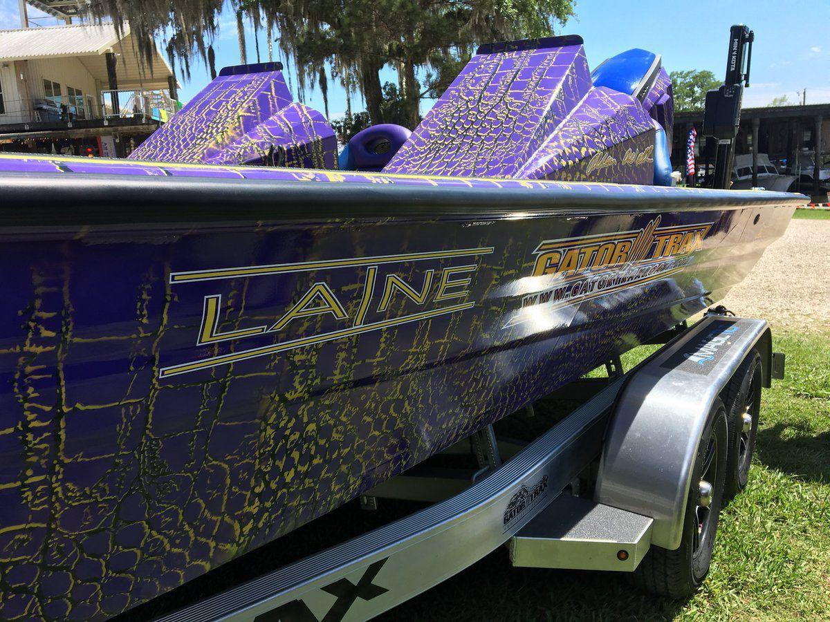 Laine Hardy boat