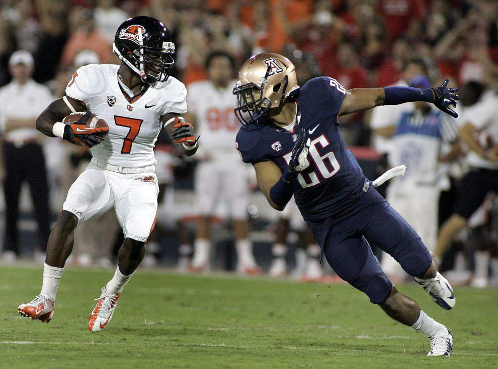 Saints trade up; select Oregon State's Cooks _lowres