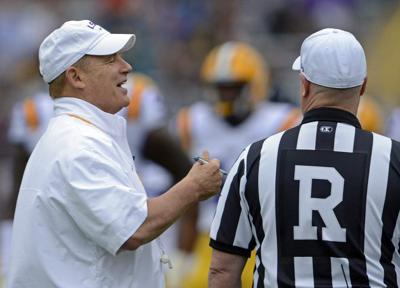 LSU coach Les Miles: Other Louisiana schools will be invited to Tigers' summer camps unless... _lowres