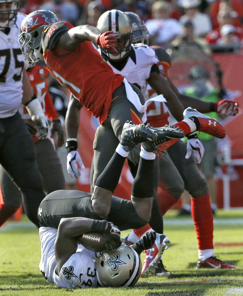 Photos: Saints keep slim playoff hopes alive with 24-17 win over Tampa Bay _lowres