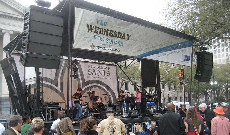 2015 Wednesday at the Square music lineup announced