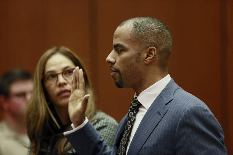 Some observers question whether Darren Sharper prison deal is legal under Louisiana law _lowres