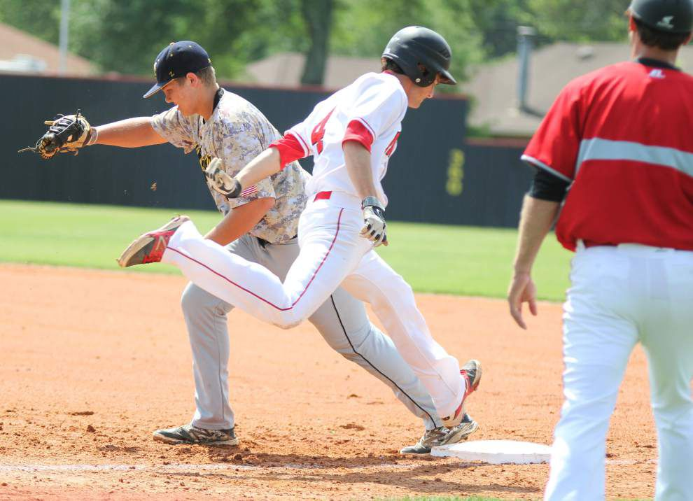 Austin Reich's two-hitter lifts Brusly over Kinder _lowres