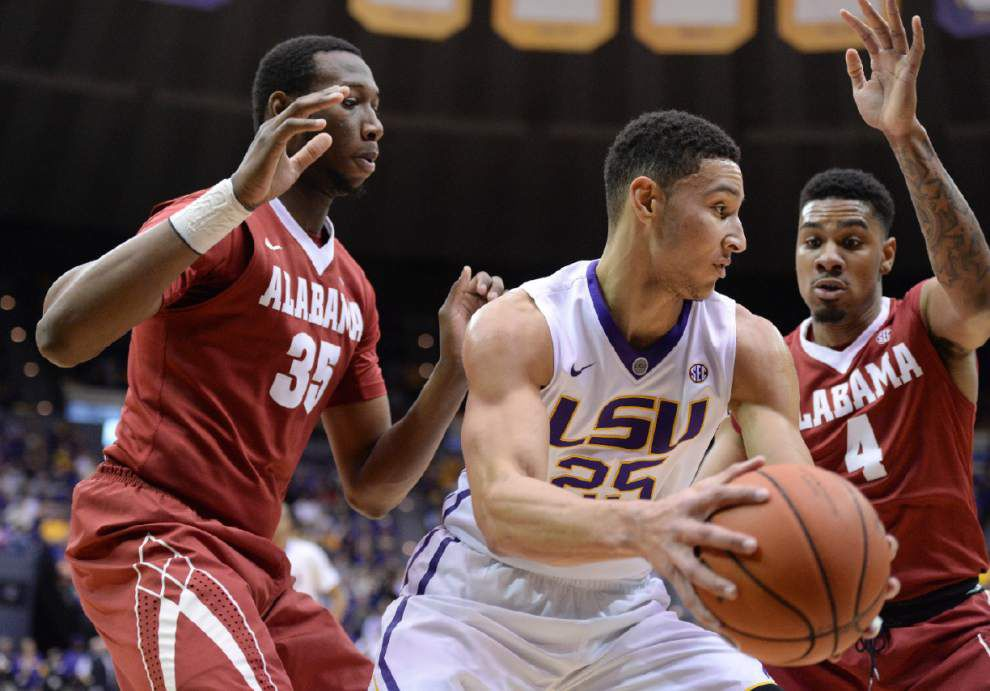 LSU forward Ben Simmons left out of starting lineup against Tennessee _lowres