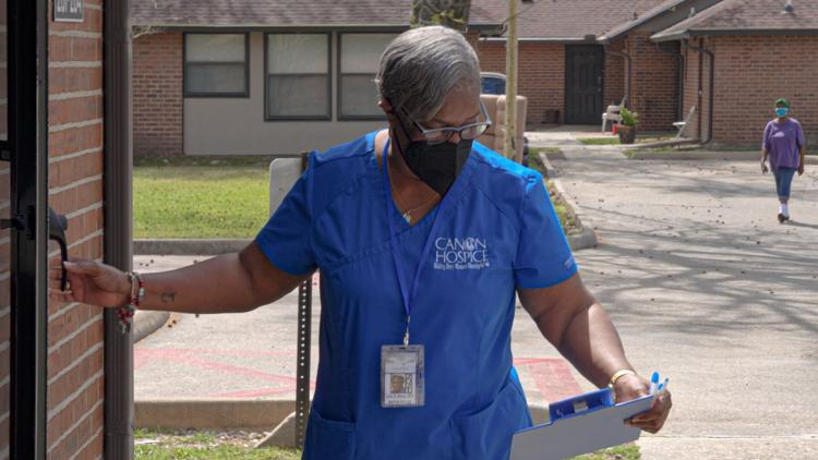 Louisiana Nurse on a Mission to Vaccinate the Underserved After Her Husband Died from Coronavirus
