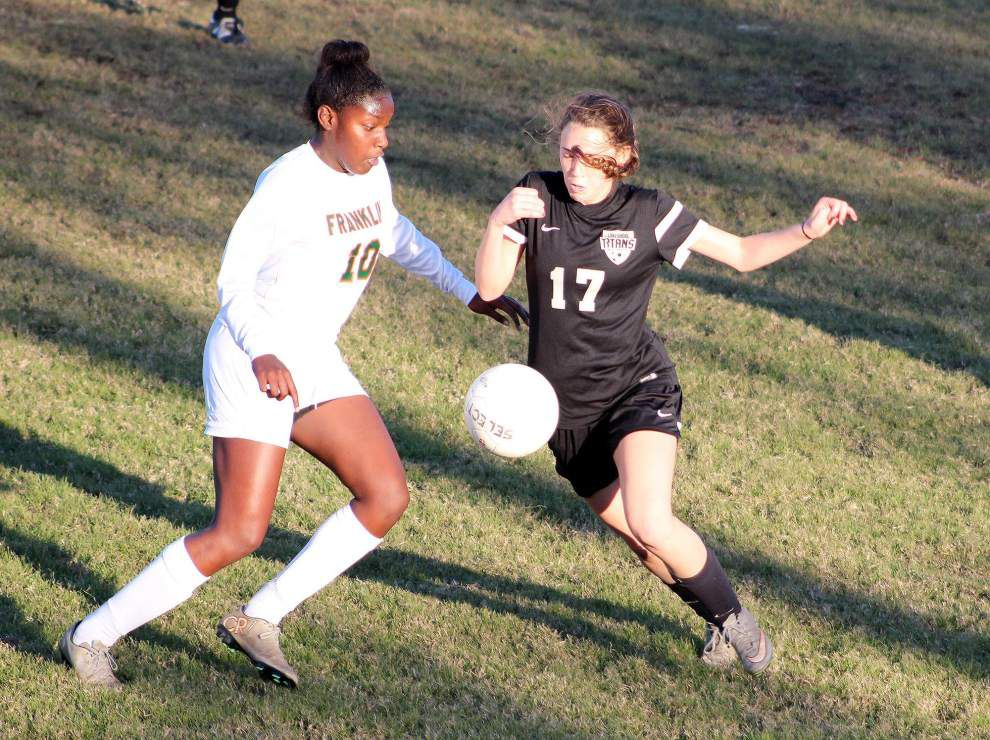 Lakeshore girls soccer team playing for school's first state team title _lowres