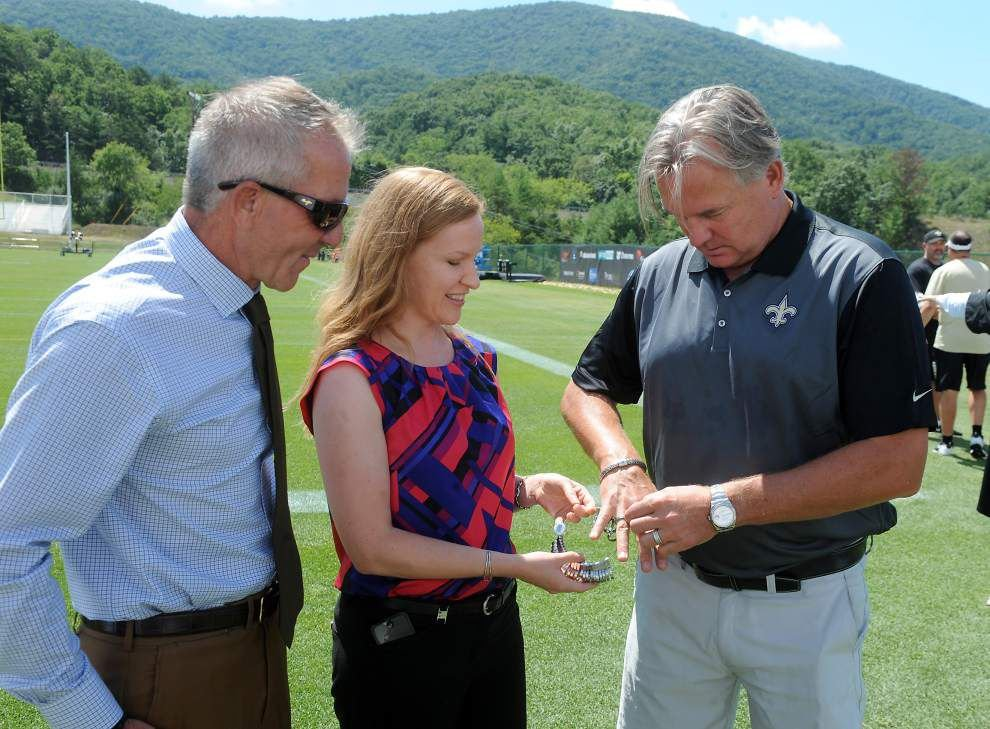 Photos: Morten Andersen announced as newest entrant into Saints Ring of Honor _lowres