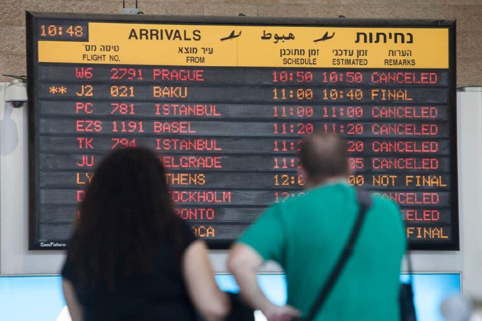 FAA lifts ban on U.S. flights to Tel Aviv airport _lowres