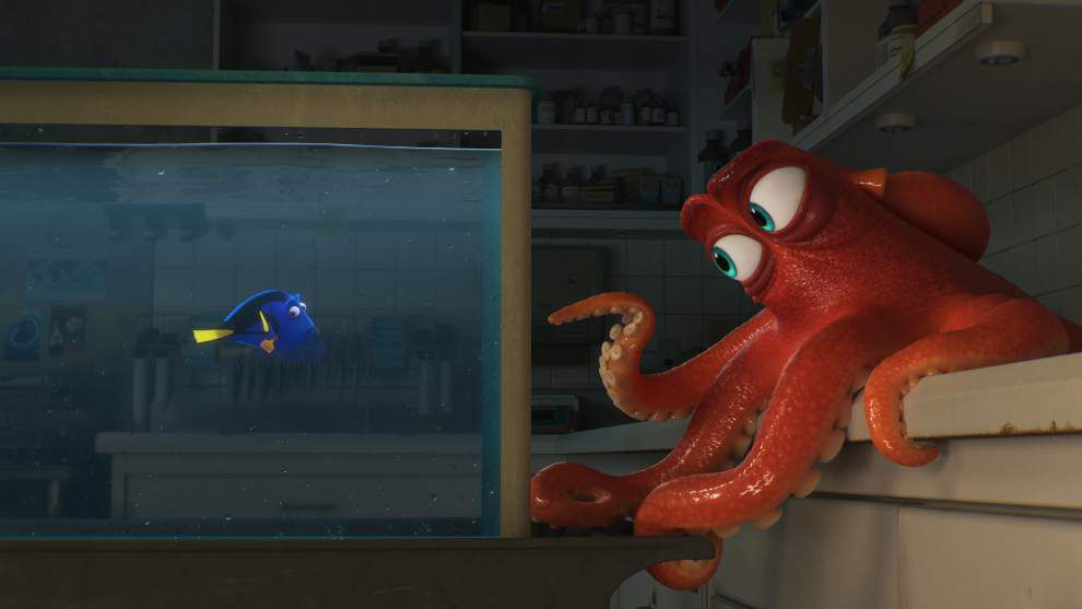 REVIEW: Overstuffed 'Dory' doesn't quite rise to level of 'Nemo' _lowres