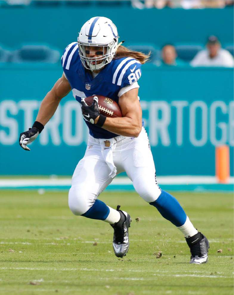 Saints make first big splash in free agency by signing tight end Coby Fleener to five-year deal _lowres