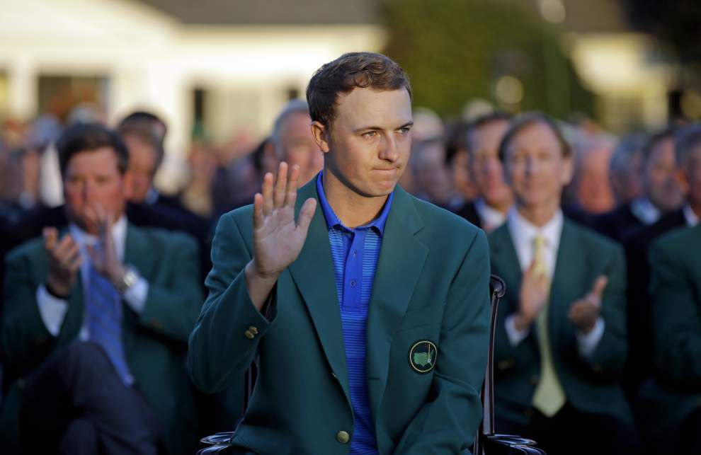 Scott Rabalais: Jordan Spieth's implosion latest tale of Masters collapses _lowres