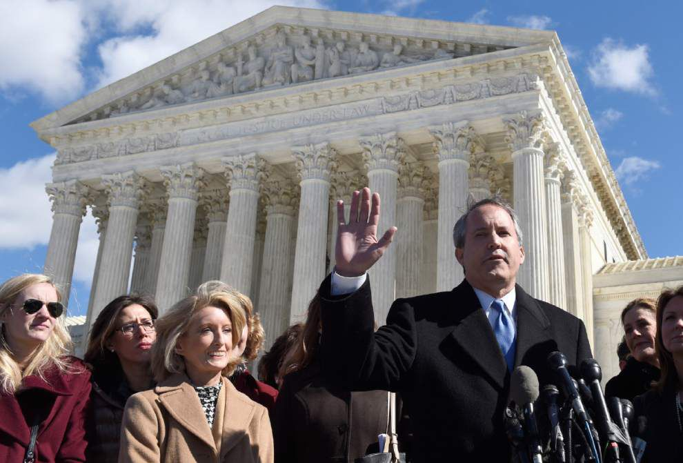 Controversial Louisiana abortion law blocked by U.S. Supreme Court on Friday _lowres