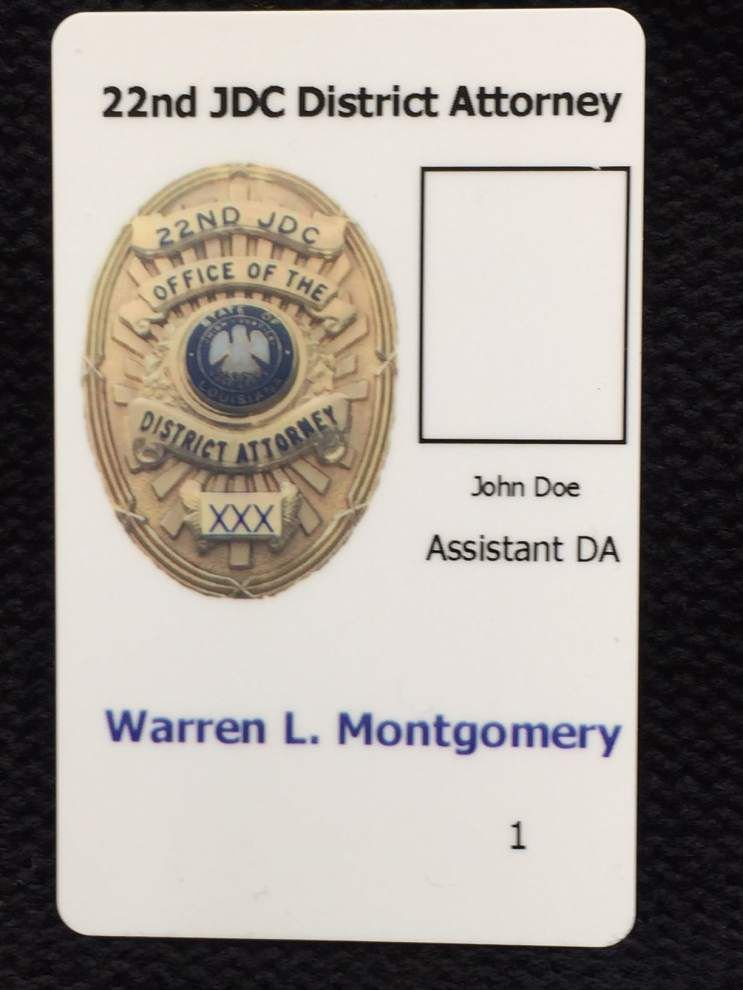 St. Tammany DA issues new badges to prevent misuse _lowres