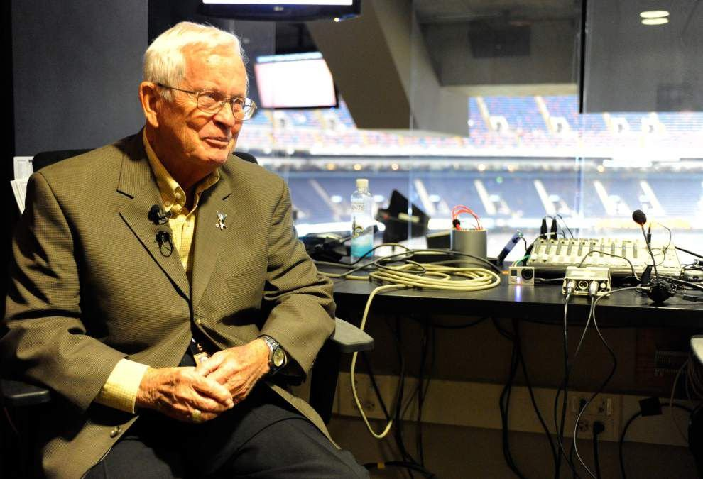 Video: Hear former Saints PA announcer Jerry Romig's trademark 'FIRST DOWN SAINTS' call _lowres