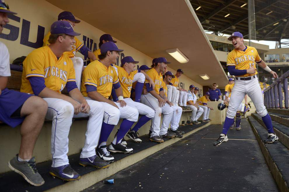 SENIOR SPIRIT: Jared Foster is a whatever-it-takes leader for LSU _lowres