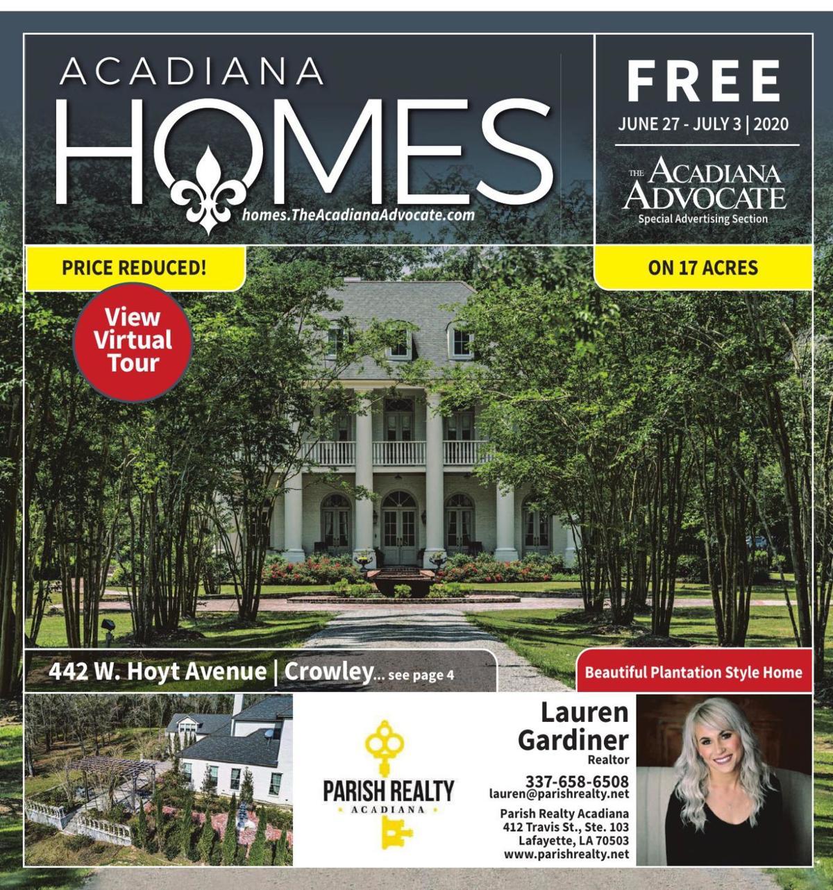 Acadiana Homes- June 27, 2020