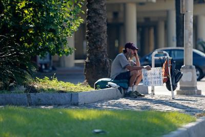 Homeless encampment  (copy)