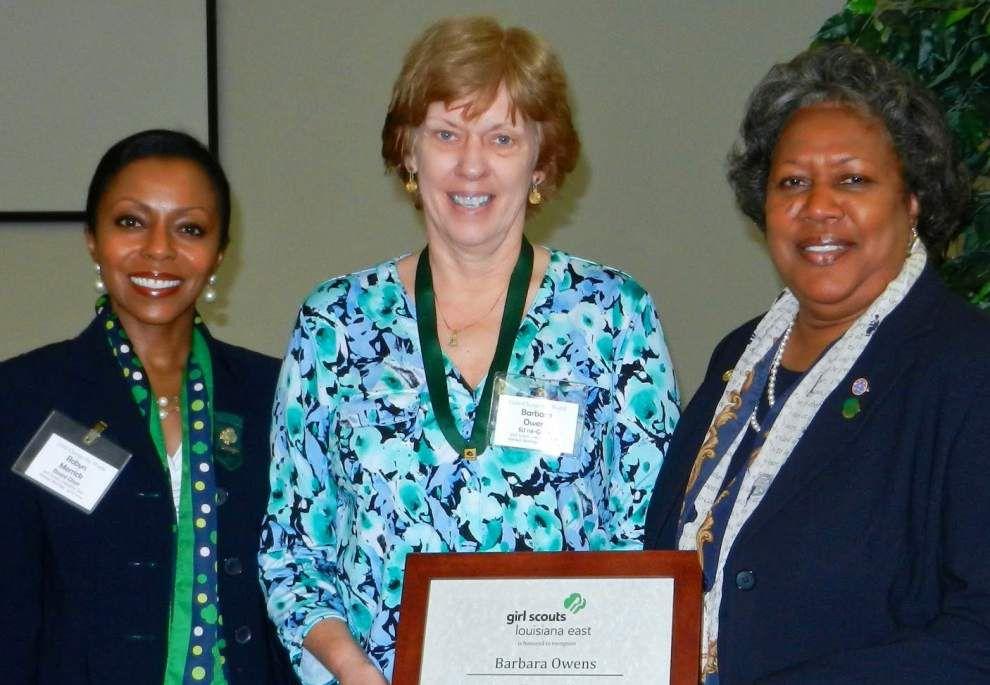 Girl Scouts Louisiana East honors outstanding volunteers _lowres
