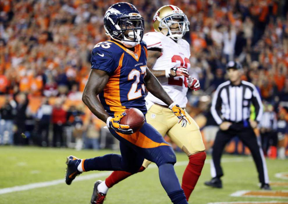 Ball hawk cornerback Perrish Cox is among the biggest threats the 49ers pose to the Saints _lowres