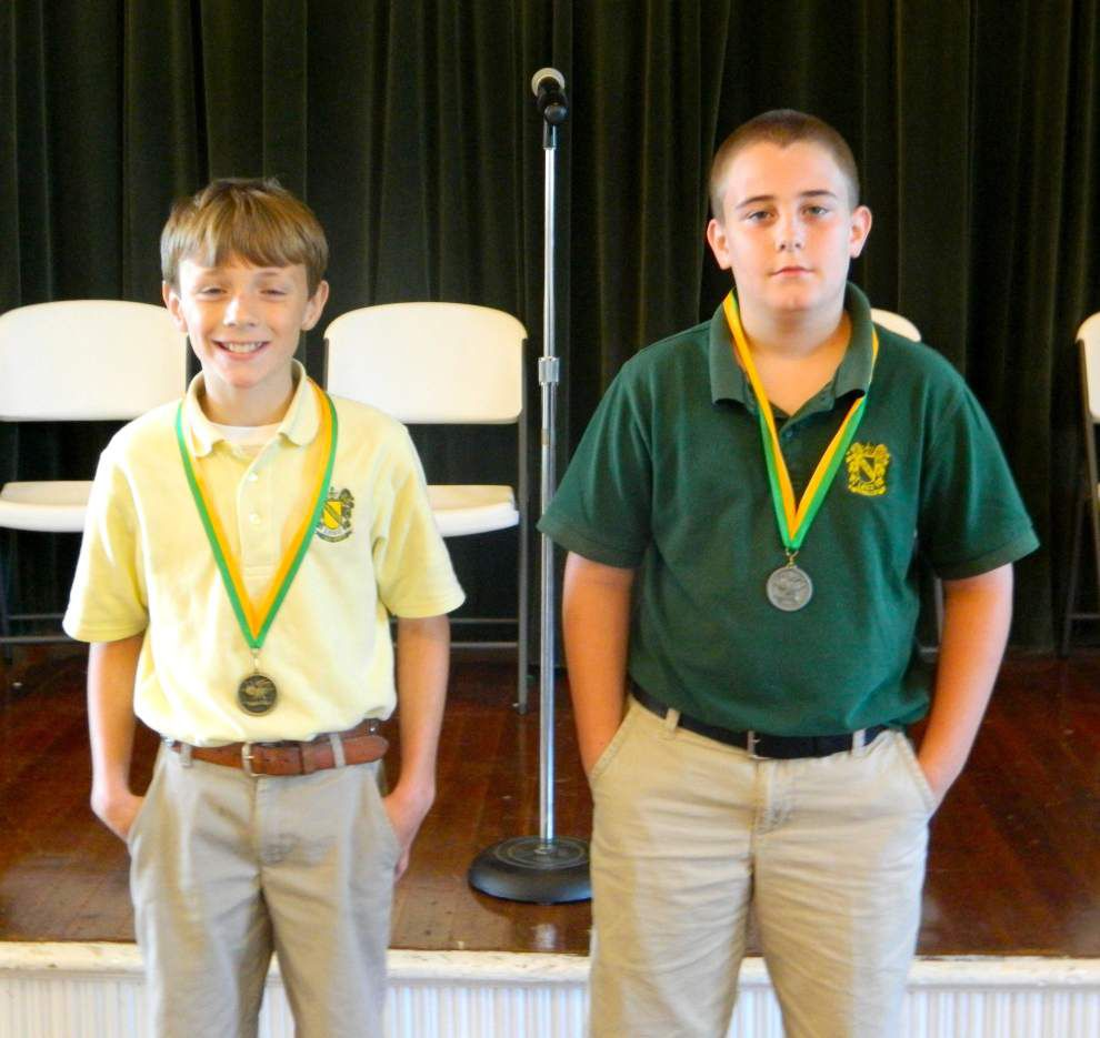 Silliman announces spelling bee winners _lowres