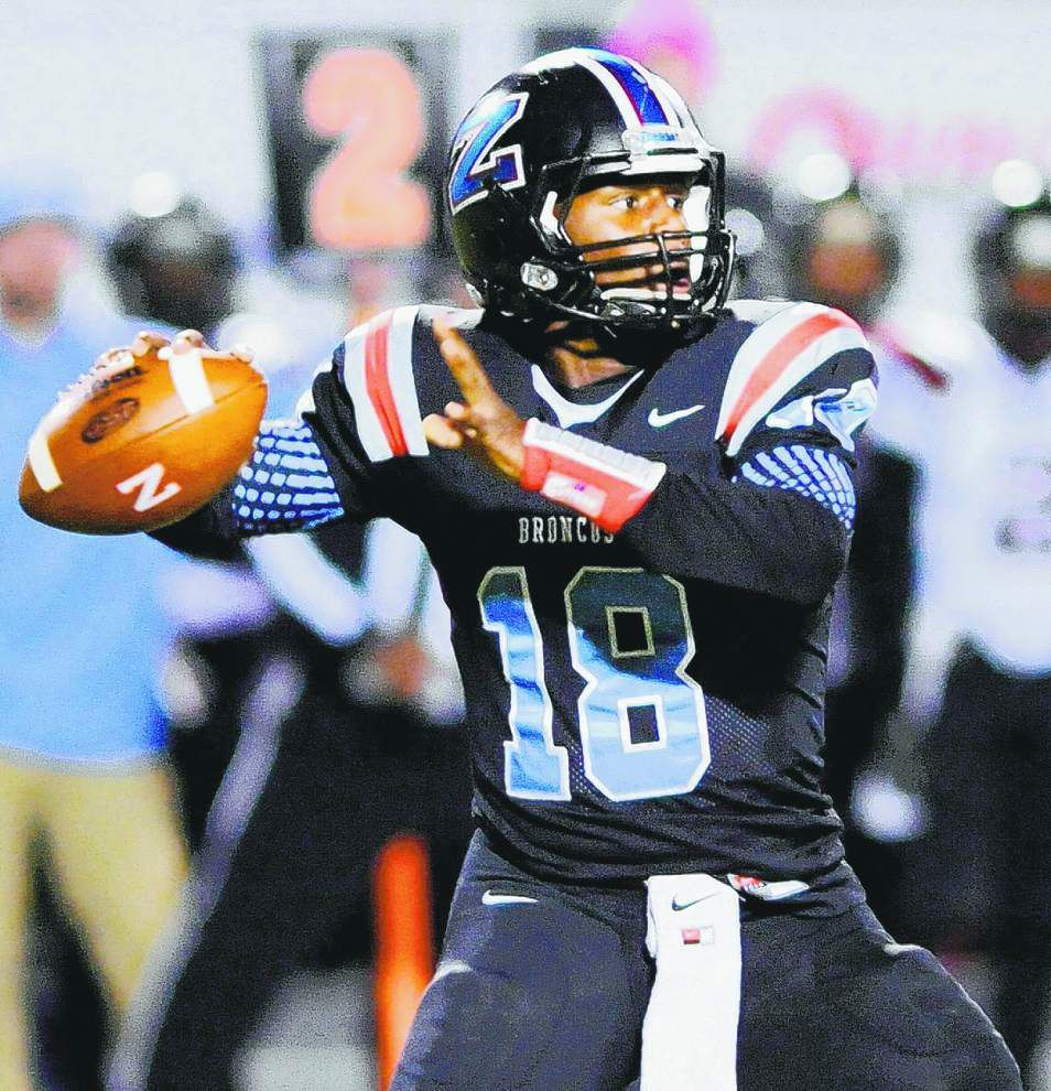 QB Lindsey Scott tries to lead Zachary to its first state championship _lowres
