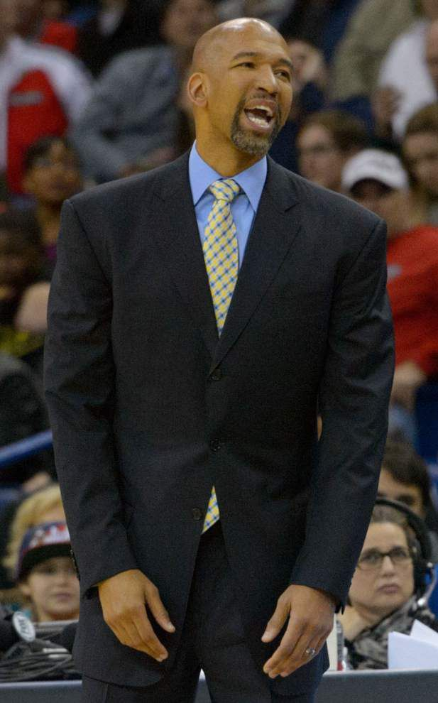 Pelicans coach Monty Williams says he hasn't had contract extension talks with management _lowres
