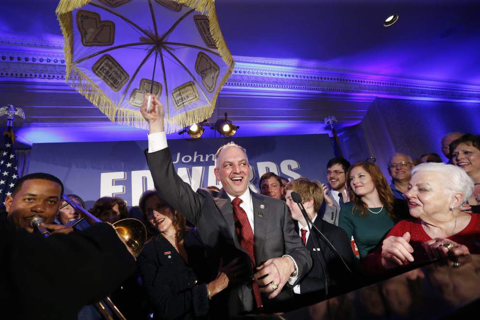 'You're crazy if you believe that': John Bel Edwards takes remarkable journey to improbable landslide in governor's race _lowres