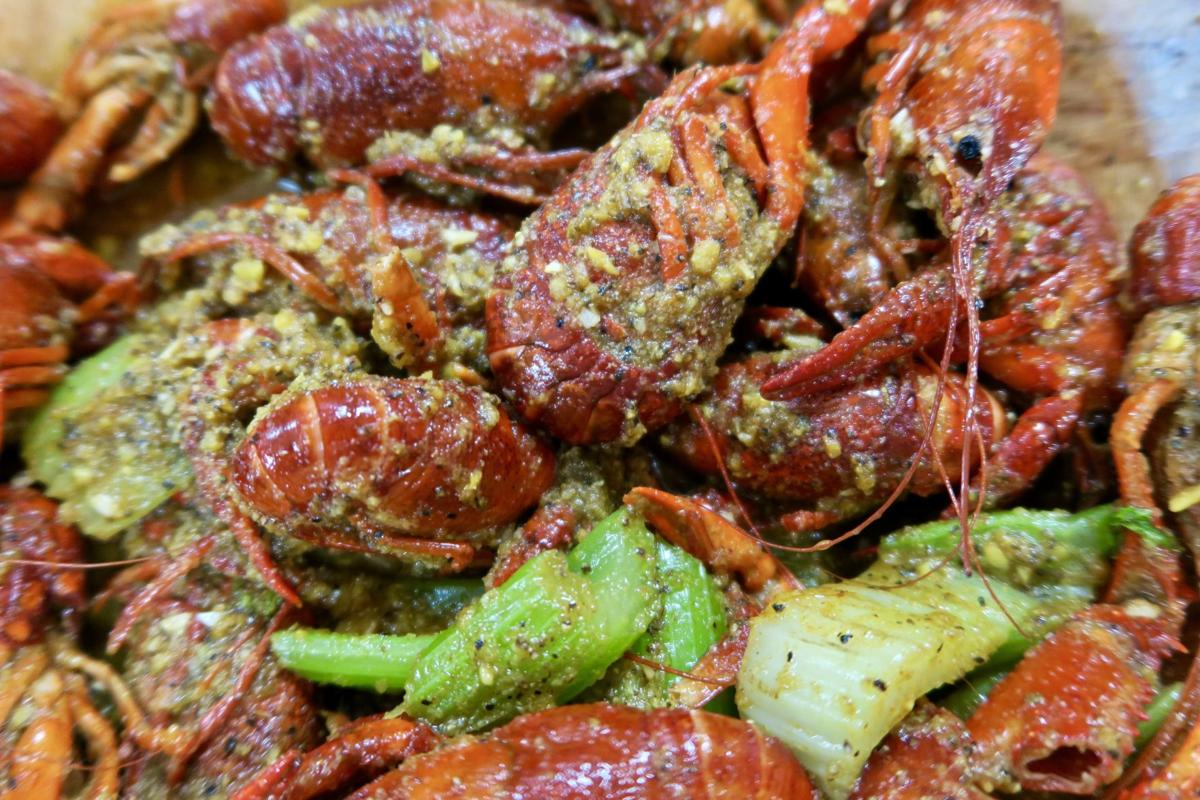 The Cajun Citrus Flavor Is One Crawfish Variety At Big Ez Seafood A Restaurant And Market In Gretna For Boiled Prepared Vietnamese Style
