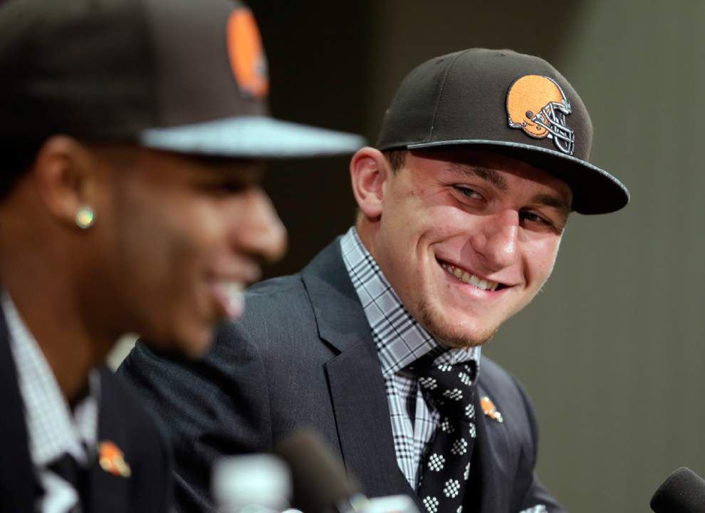 NFL notebook: Browns owner says Johnny Manziel won't be handed starting job _lowres