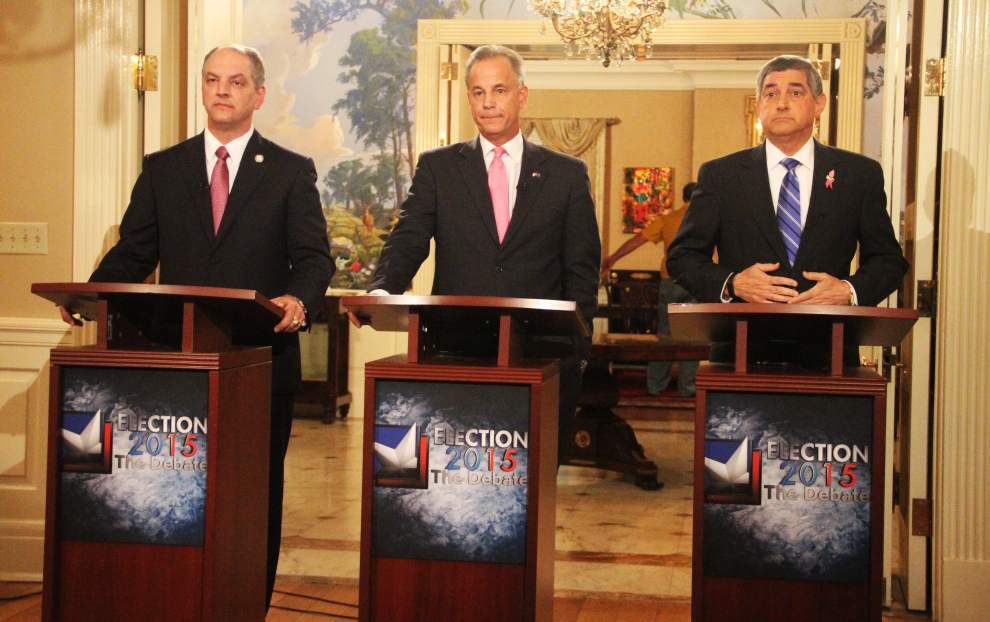 Stephanie Grace quick take: It's a shame voters didn't hear from all four candidates in Monday's Louisiana governor's debate _lowres