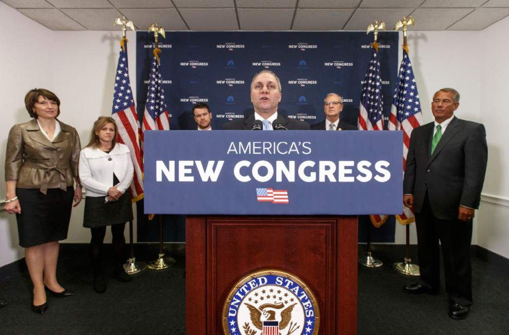Under fire, GOP leader Scalise says he rejects bigotry _lowres