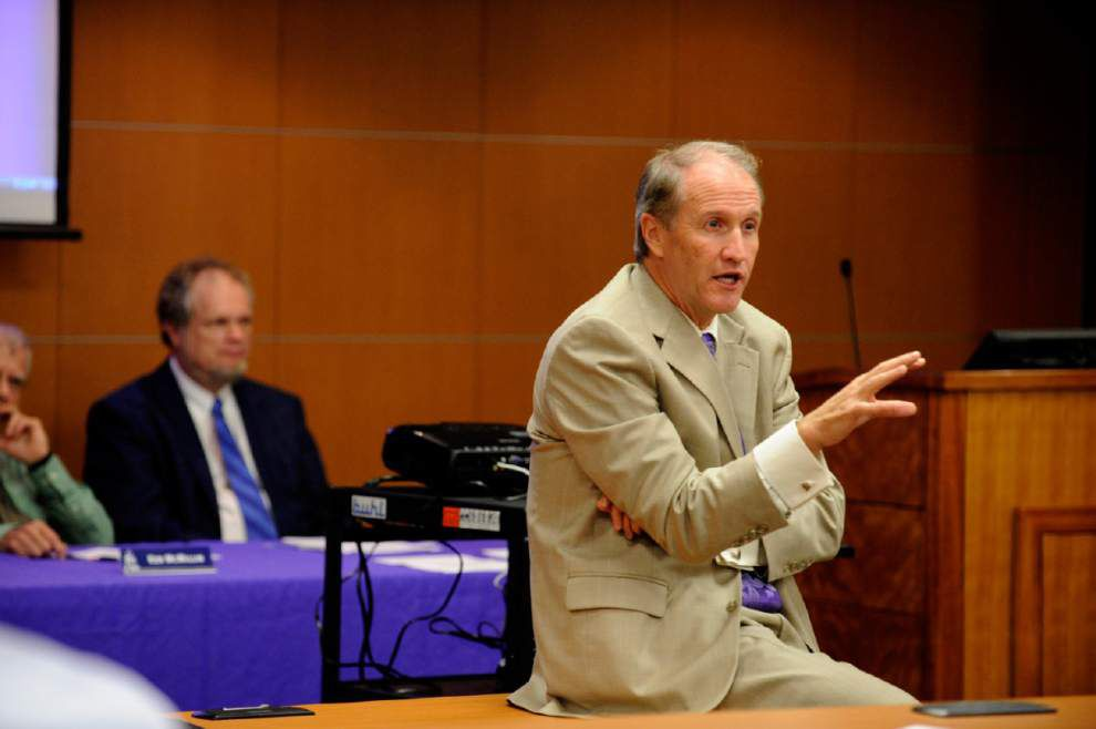 LSU Provost Stuart Bell leaving to be Alabama's new president _lowres